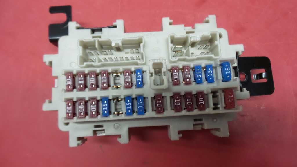 07 08 Nissan Maxima Fuse Box Under Dash 125166