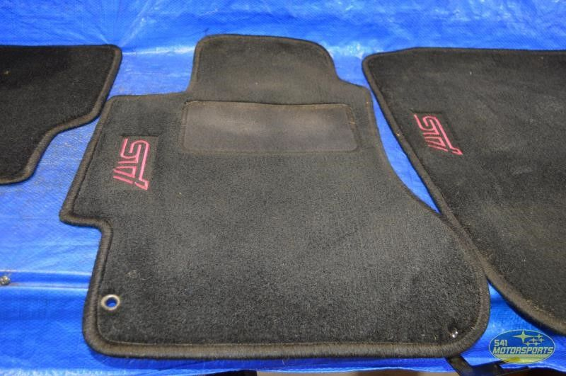 2011 2014 subaru impreza wrx sti floor mats carpet 11 14. Black Bedroom Furniture Sets. Home Design Ideas