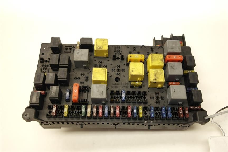 2003 Mercedes Ml350 W163 Engine Fuse Box 1635450205