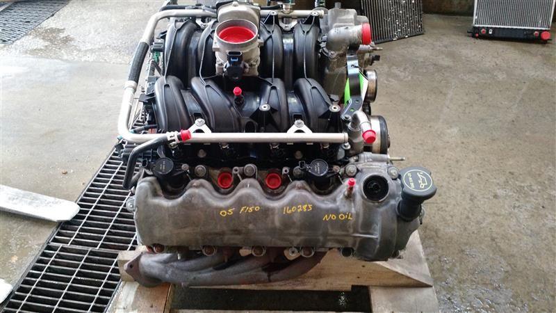 05 06 07 08 Ford F150 Engine 5 4l Vin 5 8th Digit 3v Sohc 1333823