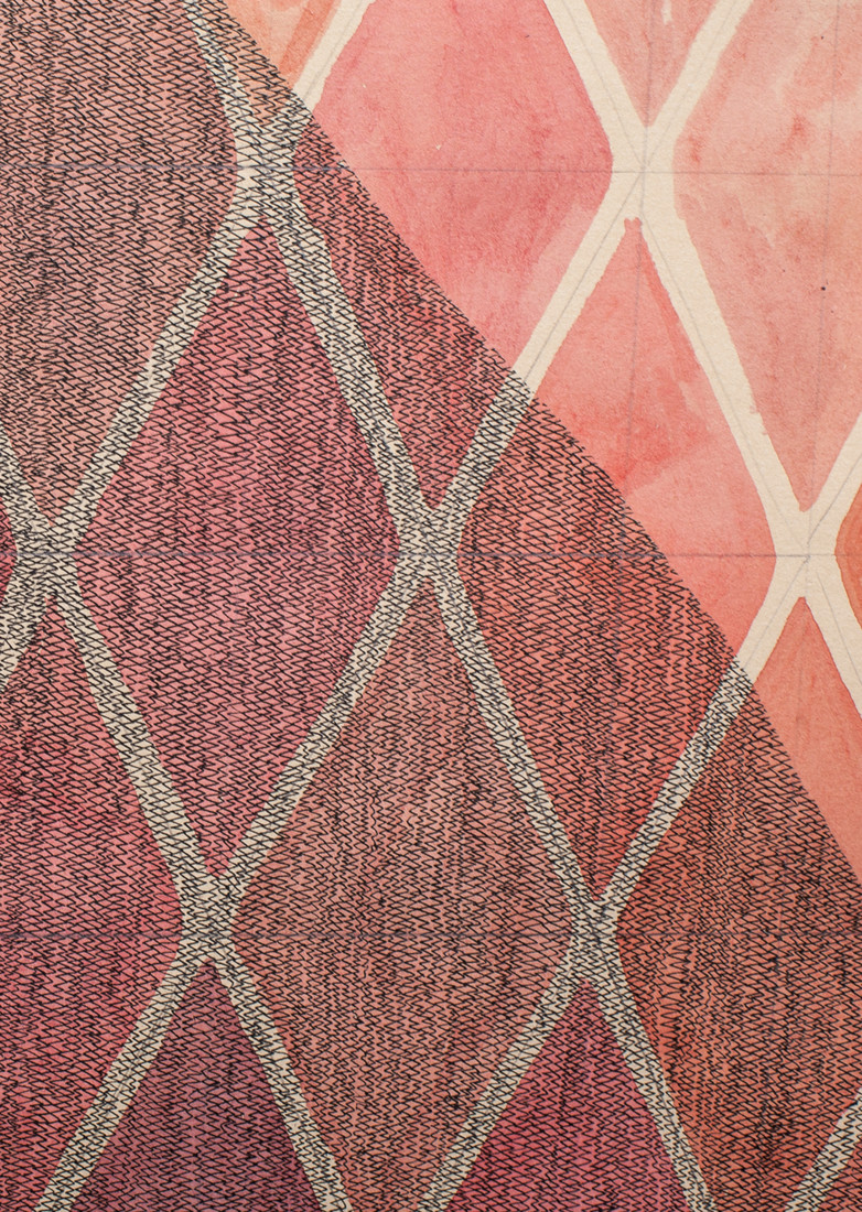 Works on Paper Viscera 4 (textural detail view)