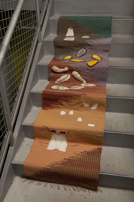 Corporeal Bodies Fruit fly Lifecycle (Stair-runner scroll)