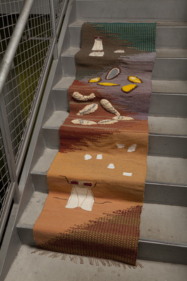 Fruit fly Lifecycle (Stair-runner scroll)