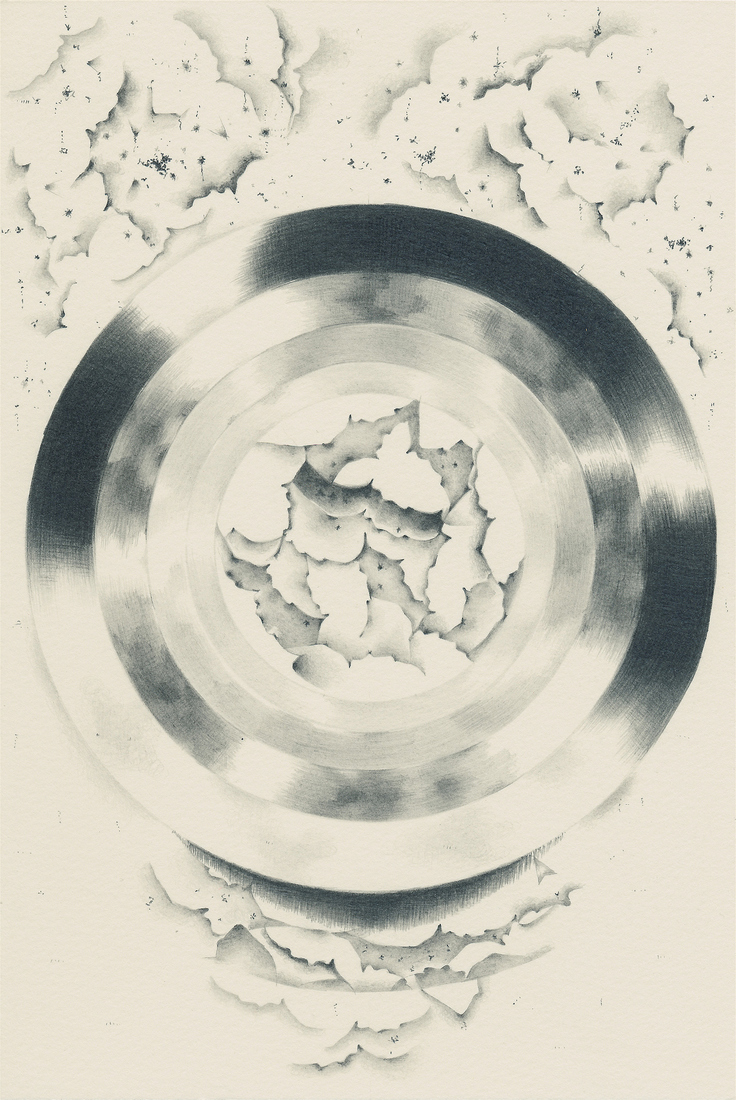 After the Disaster: Drawings Cloud Roundel