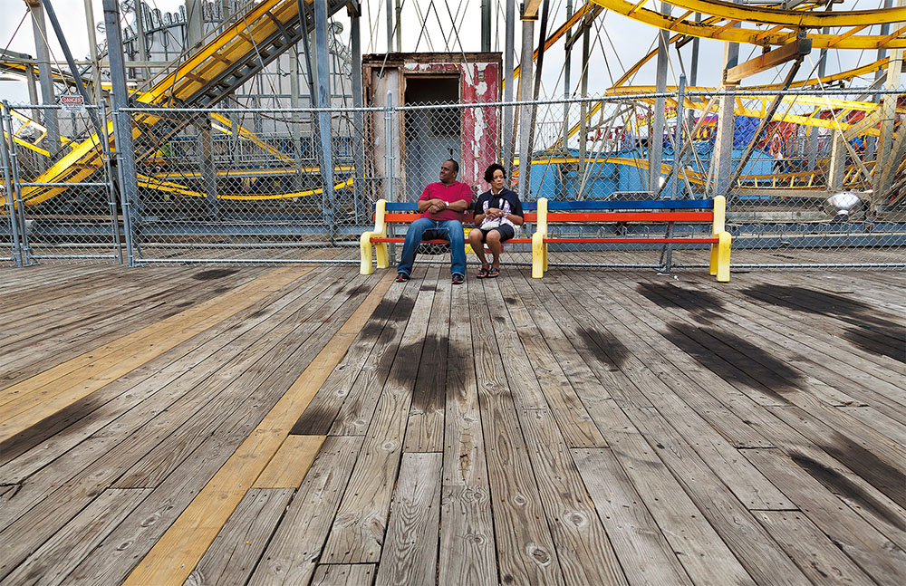 Seaside Heights: Before & After Coaster Couple