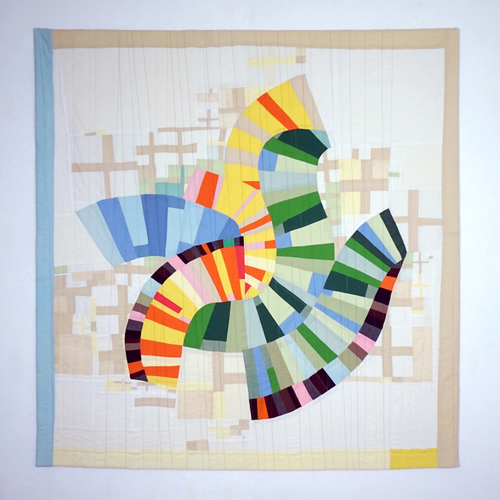 Andrew Steinbrecher Quilts: Other work Fabric, batting, thread. Machine pieced and quilted.