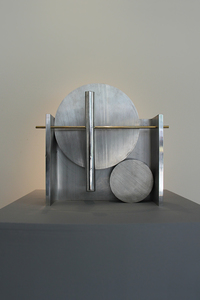 ARTicles Art Gallery Nin McQuillen aluminum and bronze