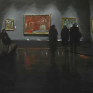 ARTicles Art Gallery Stephen Brook oil on canvas