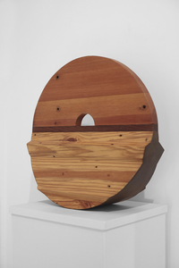 ARTicles Art Gallery Charles Parkhill stained pine, fir, and mahogany, epoxy