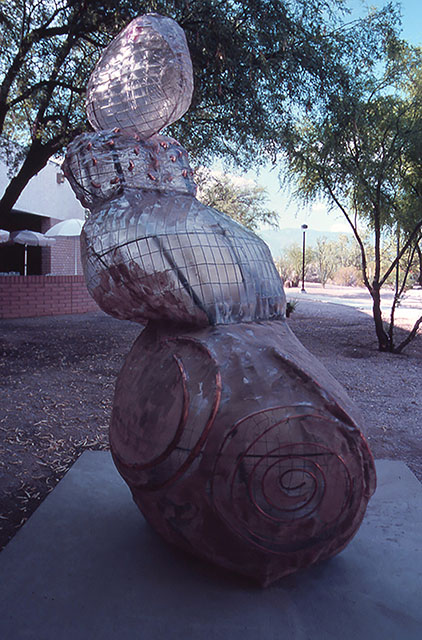 Barbara Jo Public Art fiberglass, steel, copper, sand