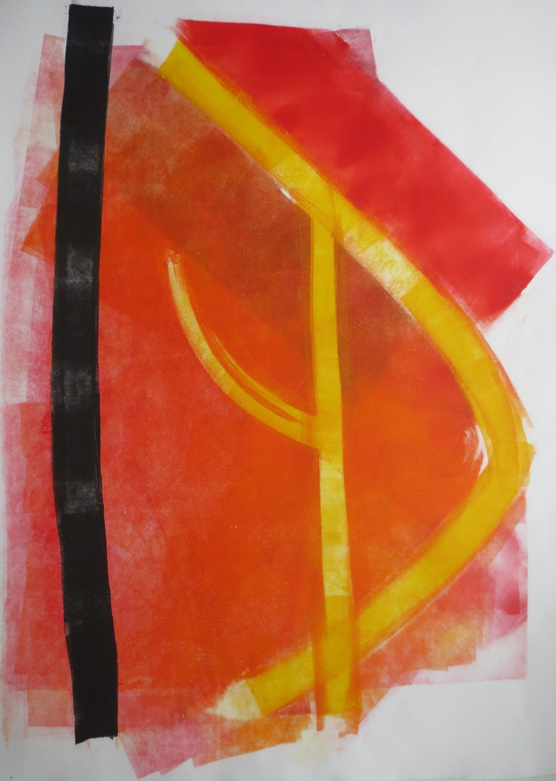 Barbara Shapiro Geometry Monotype