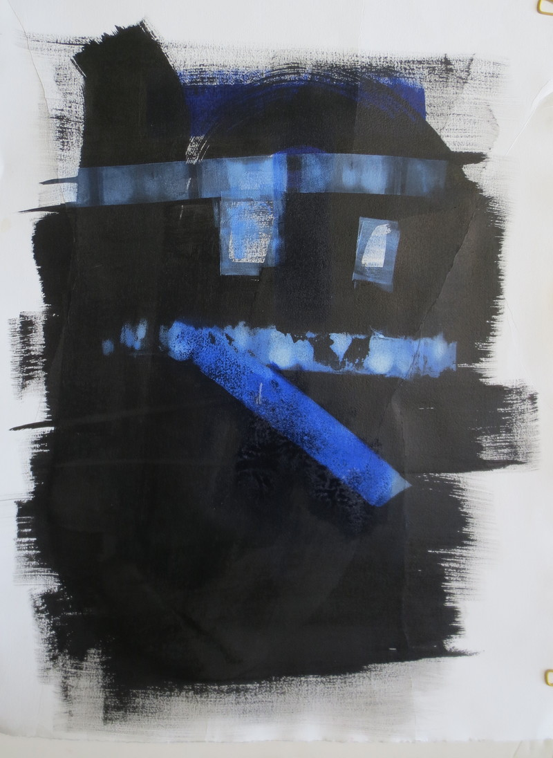 Barbara Shapiro The Blues Mixed Media