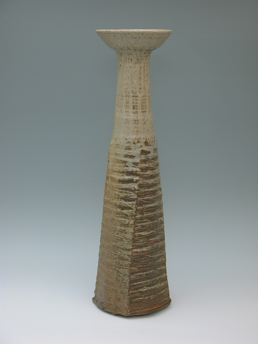 Barbara Jean Allen Closed Forms, Open Forms wood fired ceramic