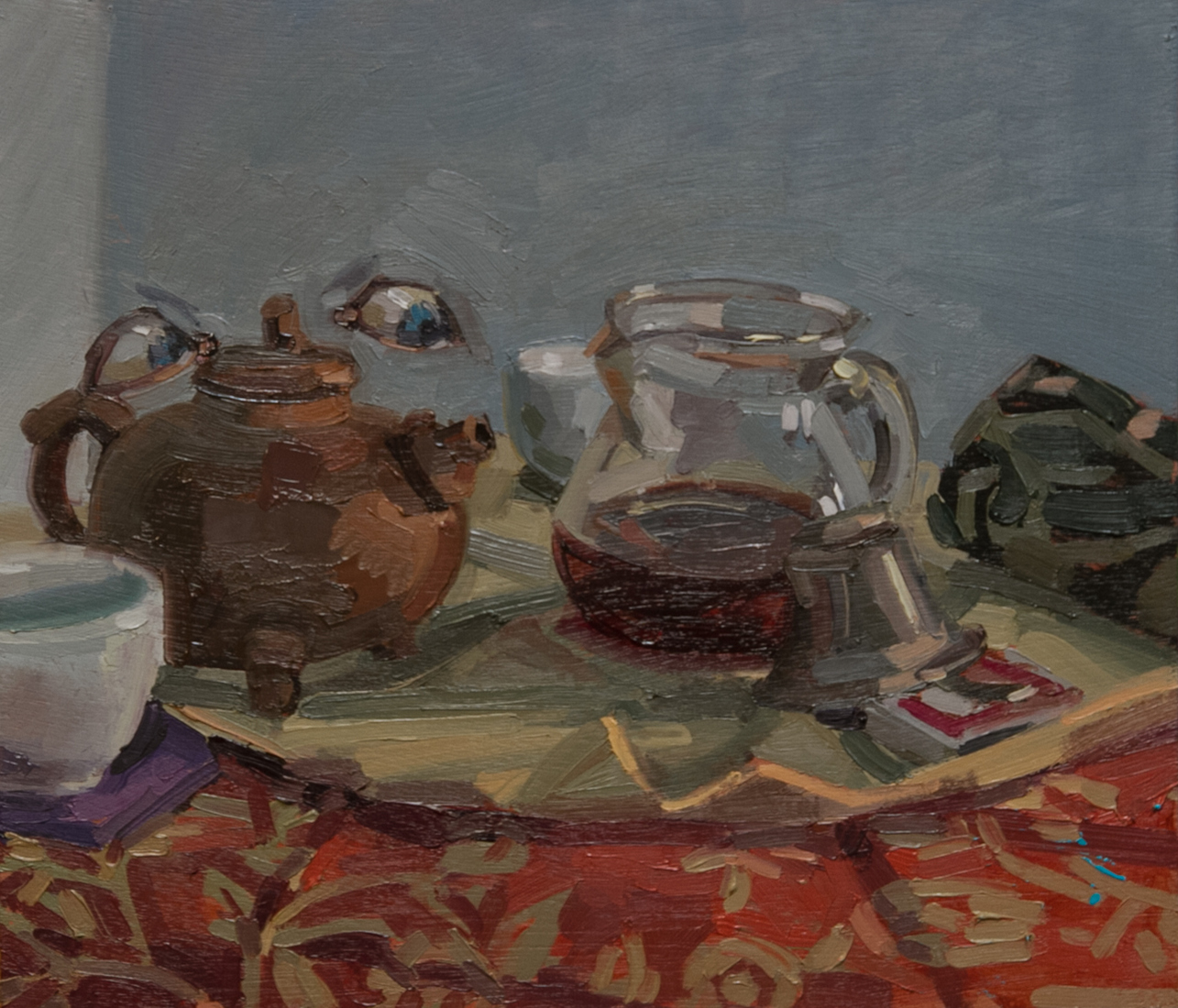 Painting Archive Tea-Drunk #1