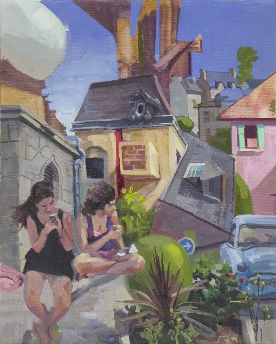 Painting Archive Diana in Dinan