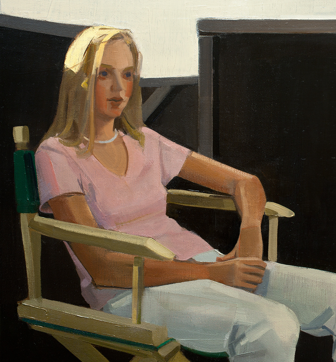 Christopher Benson Portraits Oil on linen