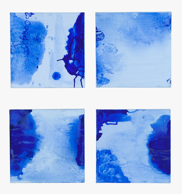 BOBBIE OLIVER Recent Blue Series
