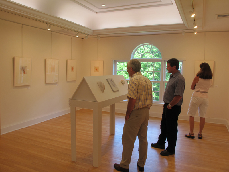 CAROLYN WEBB  Heart/Heads at the Southern Vermont Art Center