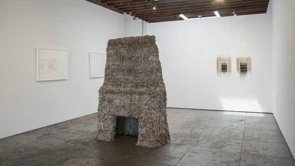 Catherine Fairbanks Two Chimneys, an exhibition Papier mache, no armature