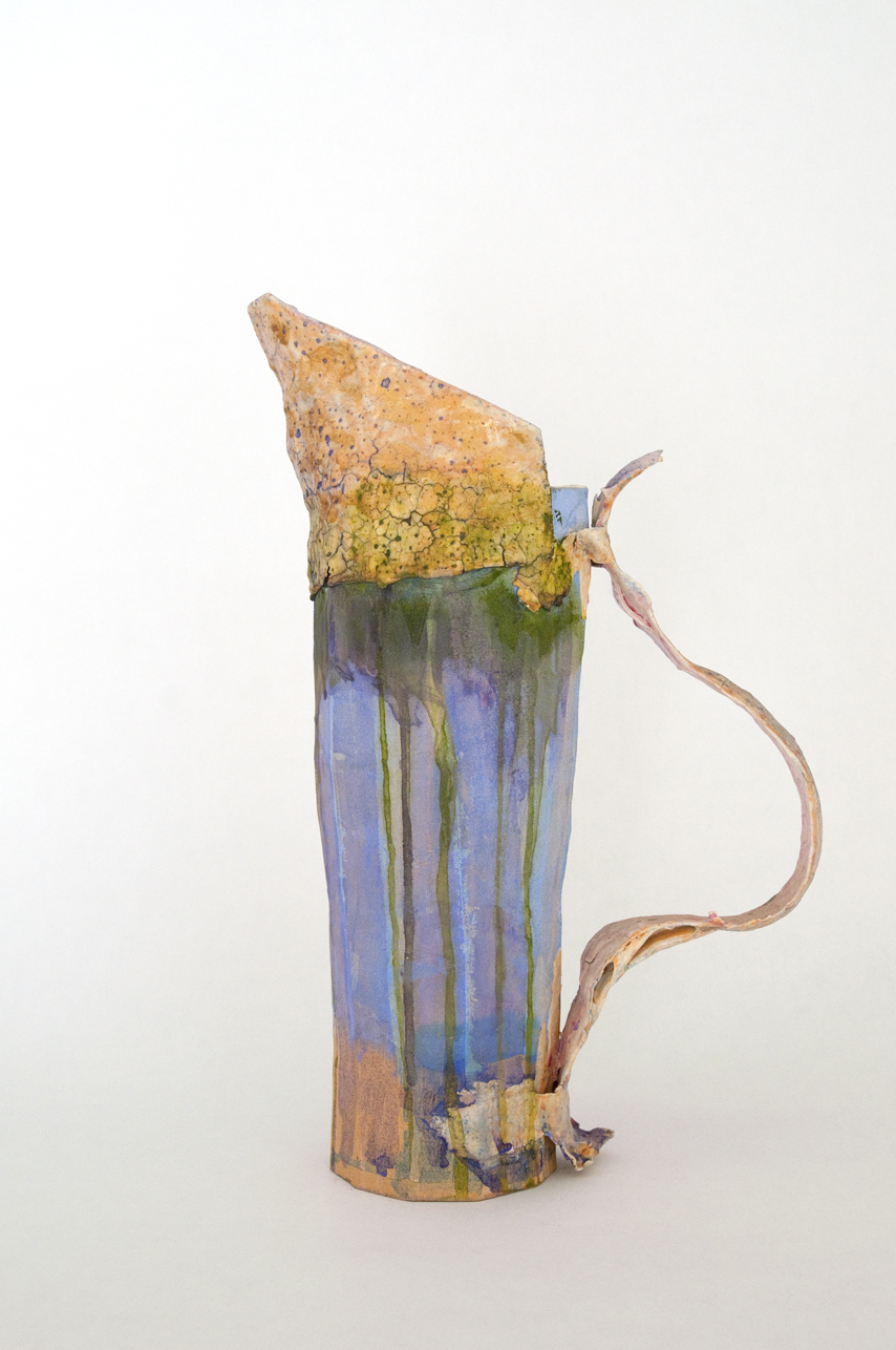 Catherine Fairbanks Works High fire ceramic, papier mache, gouache and polyacrylic protectant