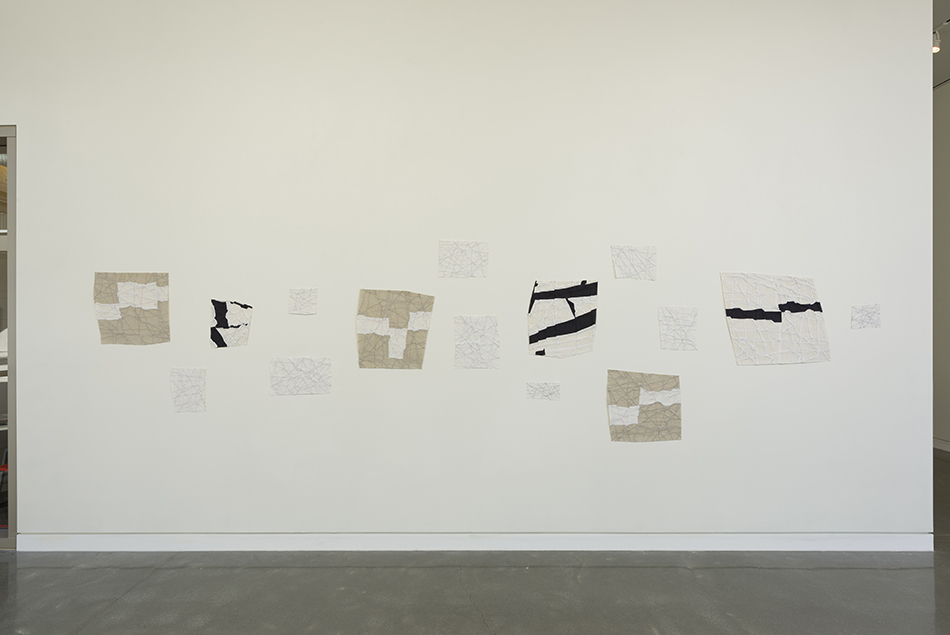 Installation view, Chan Gallery, Pomona College of Art<br/>