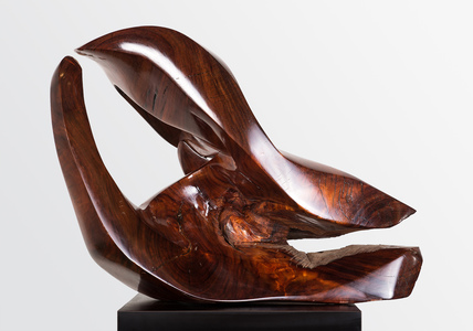 DAVID ERDMAN Available Works monkey pod wood with high gloss polyurethane finish