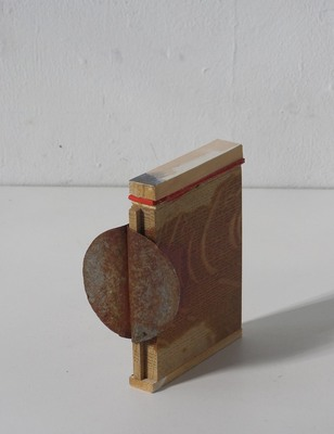 David McDonald Tiny Histories Wood, Metal, Acrylic