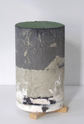 David McDonald 2000-2010 Hydrocal, Mortar, Wood, Pigment, Enamel, Varnish