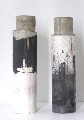 David McDonald 2000-2010 Hydrocal, Mortar, Pigment, Enamel, Varnish