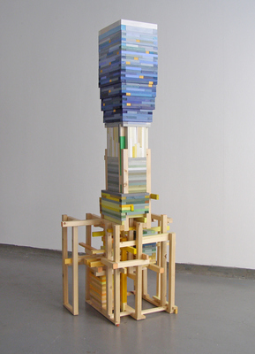 David McDonald 2000-2010 Wood, Acrylic, Enamel