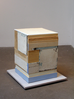 David McDonald 2000-2010 Wood, Hydrocal, Acrylic, Joint Compound, Wax, Varnish