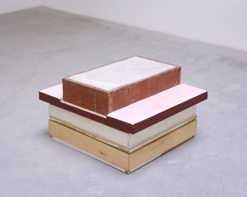 David McDonald 2000-2010 Mortar, Hydrocal, Wood, Acrylic, Joint Compound, Wax, Varnish
