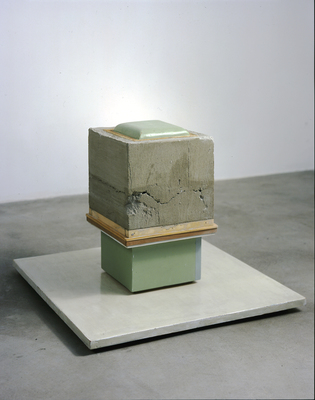 David McDonald 2000-2010 Mortar, Wood, Acrylic, Joint Compound, Wax, Varnish