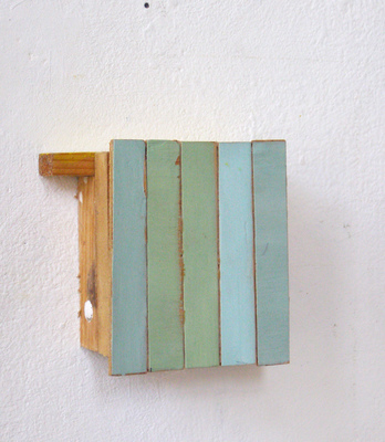 David McDonald 2011-present Acrylic, Wood, Joint Compound, Cold Wax