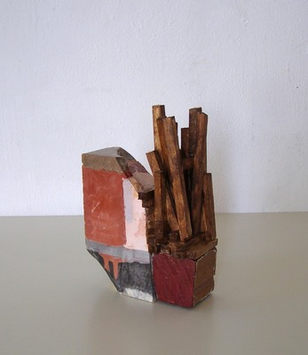 David McDonald Compacts Balsa Wood, Hydrocal, Pigment, Wood, Wood Stain, Varnish