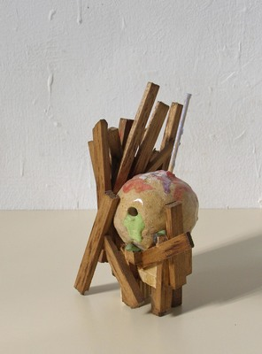 David McDonald Compacts Balsa Wood, Ceramic, Wood Stain, Varnish