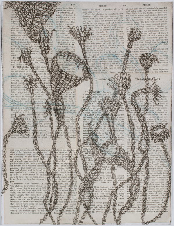 Debbie Schmitt Textiles Drypoint and chin colle'