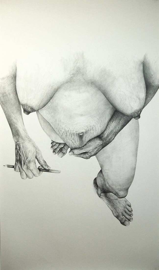 Drawings 2005-2007 Standing Self-Portrait / Autoportrait debout