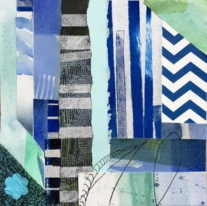 Dorothy Englander  Collages 2017  collage