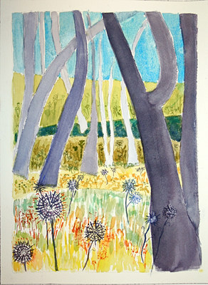 Dorothy Englander Earlier Work (selected paintings) watercolor
