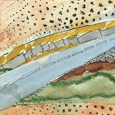 Dorothy Englander Earlier Work (selected) watercolor, ink