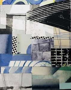 Dorothy Englander  Collages mixed media collage on canvas