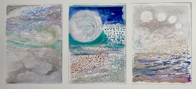Dorothy Englander Earlier Work (selected paintings) watercolor on Arches