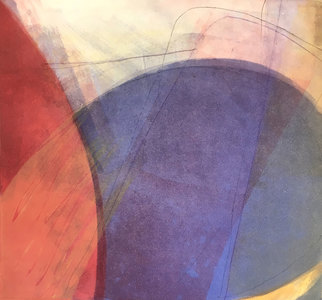 EDDA VALBORG SIGURDARDOTTIR Color and Composition Monotype