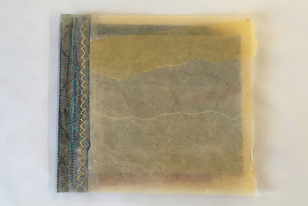 EDDA VALBORG Handmade books Monotype on Kitikata and pattern paper, waxed