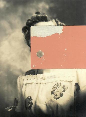 Felicia Dadak Past Lives found photo, paper, glue