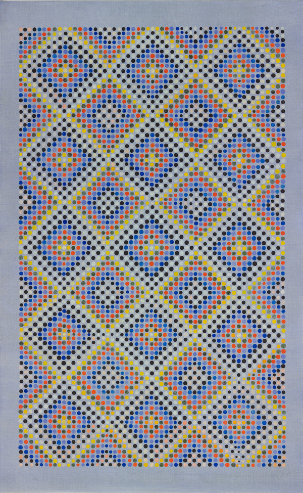 Weaving Series oil on linen