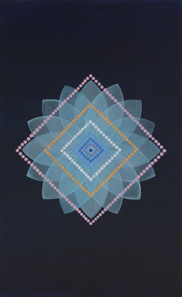 Geometry Series oil on linen