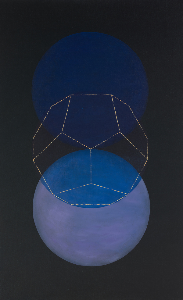 Platonic Solids Series oil on linen