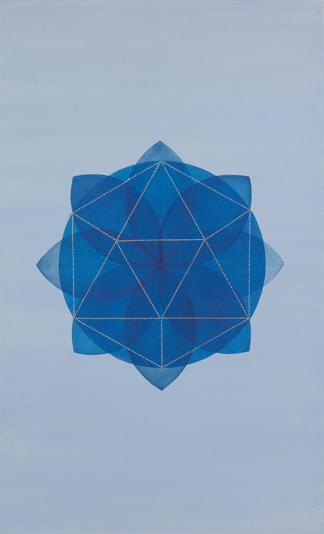 Platonic Solids Series Blossom (Lake Blue)